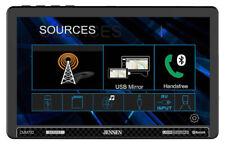 "Jensen CMM710 Double DIN 10.1"" Touchscreen Stereo In-Dash Bluetooth Receiver"