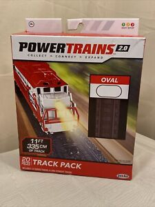 Power Trains 2.0 Track Pack By Jakks Pacific Toys New Open Box (S7-1)