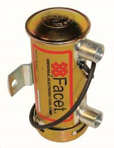 Facet Silver Top Electronic Fuel Pump Kit Fast Road 12V Upto 200BHP