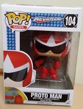 "In-Hand New Funko POP! Games Megaman ""Protoman"" Vinyl Figure"
