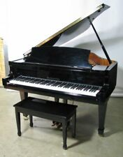 Knabe Baby Grand Piano Model KN-520; Gloss Black With Bench; Exceptionally Clean