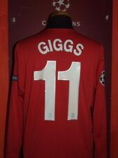 GIGGS MANCHESTER UNITED 2009.2010 MAGLIA SHIRT CALCIO FOOTBALL MAILLOT JERSEY