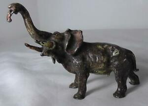 Franz Bergman Cold Painted Bronze Elephant C1900