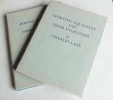 Sporting Aquatints and their engravers by Charles Lane 2 volumes 1st editions