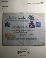 1944 Tilburg Netherlands Advertising Cover To Champagne Troy Reims France