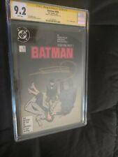 Batman 404 CGC 9.2 SS signed by Frank Miller