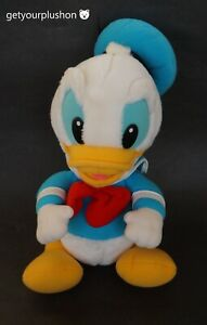 DISNEY HASBRO SOFTIES 1986 DONALD DUCK PLUSH
