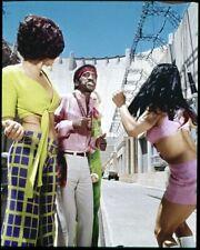 Sammy Davis Jr 1960's Hippie Vêtements Original 5x4 Couleur Photo Transparence