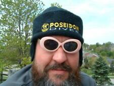 POSEIDON diver post drysuit hat w ear flaps VINTAGE Sweden.