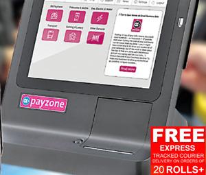 New Payzone Rolls  80mm x 60mm Thermal Paper  Till EPOS Printer Receipt Rolls