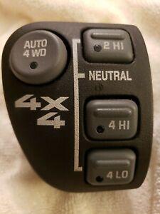 4 Wheel Drive Shift Switch for Chevy Blazer S10 Chevy S10 GMC Envoy Jimmy S-15