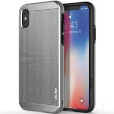 OBLIQ Slim Meta iPhone X Case - Satin Silver iPhone 10