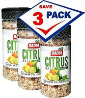 Badia Citrus Salt 7 oz. Pack of 3