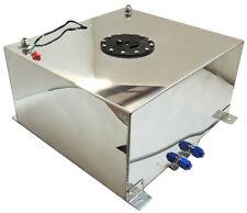 New Polished Aluminum 15 Gallon OEM Fuel Cell Tank & Sender Hot Rod Rat Rod V8