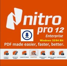 Nitro Pro 12 PDF Editor ✔️ 2018 Full Version ✔️Activation Key (Instant Delivery)