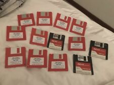 Akai Sample Pack Cd Very Rare Cds Floppys Cfs Cd Reader Zip Disks All Original