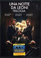 Una notte da Leoni - la Trilogia (3 Dvd) Warner Home Video
