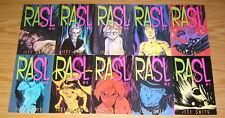 RASL #1-15 VF/NM complete series - jeff smith - cartoon books set - 1st prints
