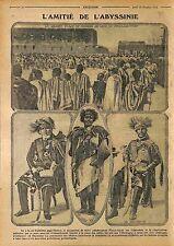 Abyssinie Corne Afrique Éthiopie Al-Habash Africa Ethiopia Abyssinia WWI 1915