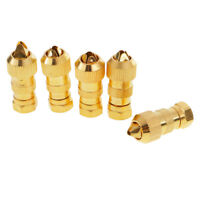 5pcs F Type Male Plug Connector for RG6 & RG59 TV Antenna Coaxial Coax Cable