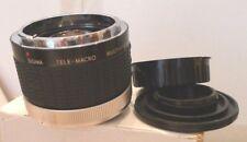 Sigma Tele-Macro Multi-Coated 2X-1:1 Converter for Canon - Japan