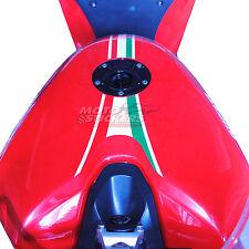 DUCATI  848 - fascia adesiva serbatoio tricolore - racing decal