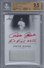2011 Pete Rose Leaf Legacy Red Ink Auto Jersey- BGS 9.5 w/10 auto... #6/10