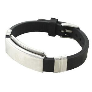 Tribalance 602 Yin Yang Ions Silicone Bionic Magnet Bracelet Tao magnetix Tcm