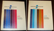 1975 + 1976 HEWLETT-PACKARD Test & Measurement CATALOGS Electronic Instruments