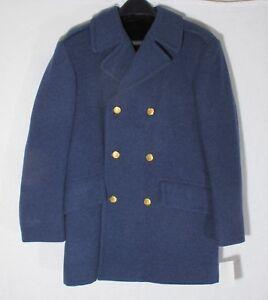 Heavy Wool US Issue Reefer Coat Weintraub, Waterbury Buttons, Pea Coat Citadel