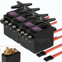 4Pcs MG996R 55g Metal Gear Torque Digital Servo 15KG for RC Helicopter Car Robot