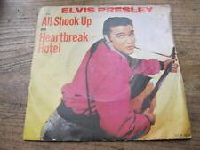 "VG+   ELVIS PRESLEY - All shook up / Heartbreak hotel - 7"" single"