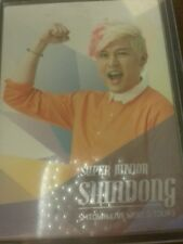 Super junior shindong smtown live world tour official Photocard Card Kpop K-pop