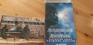 Topps Trading Cards  1995-     Star Wars Mastervisions  SET   EXC