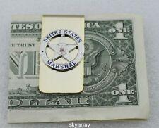 US marshal BADGE PIN MONEY CLIP