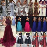 USA Women Formal Prom Long Sequin Dress Evening Party Cocktail Long Maxi Dress