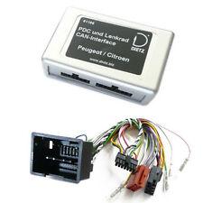 Park Distance control + CAN bus Interface radio volante adaptador citroen c2 c3 c4