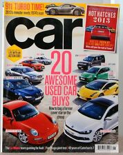 CAR Magazine 20 AWESOME USED Car BUYS 911 Turbo Time 2013 Monster Meets 1974