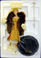 Charleston Barbie Porcelain doll * NRFB* Bob Mackie Box NOT perfect