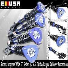 Coilover Suspension fit 05-07 Subaru Impreza WRX STi Sedna 4D 2.5 T BLUE
