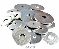 PENNY REPAIR WASHERS A2 STAINLESS STEEL FOR METRIC BOLTS,SCREWS M4,5,6,8 x 25mm