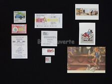 LOT HERGE ESTEVE FORT TINTIN Bar Cartes Hommage (342)