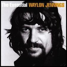 WAYLON JENNINGS (2 CD) THE ESSENTIAL ~ HIGHWAYMEN ~ 70's ~ COUNTRY HITS *NEW*