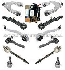 Mercedes W211 OEM SUSPENSION COMPRESSOR + Control Arm Ball Joint Tie Rod Kit