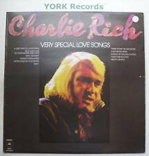CHARLIE RICH - Very Special Love Songs - Ex  LP Record
