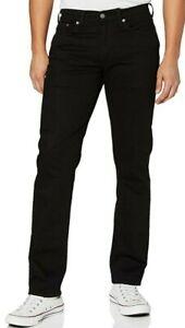 Levi's Men's 501 Original Fit Regular Denim Jeans Black Size W 33  L 32