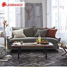 Diamond Floor Rug Black White Tribal Geometric Super Soft Moroccan Rug 155x225cm