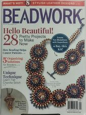 Beadwork Aug Sept 2017 Hello Beautiful 28 Projects to Make Now FREE SHIPPING sb