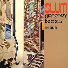 GREGORY ISAACS Slum In Dub TAD'S RECORDS Sealed Vinyl Record LP