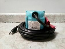 Little Giant 1-AA-18 1/200 HP 7 Ft Max Head 115V Compact Submersible Pump